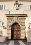 Palace in Castel Gandolfo, Pope residence, Italy Stock Images