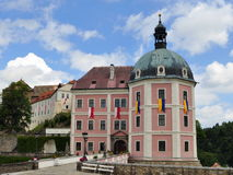 Palace and castle in Becov nad Teplou ,Czech Repub Royalty Free Stock Image