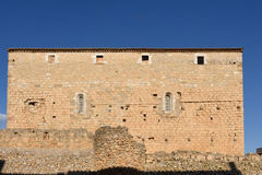 Palace Castle Bellcaire d`Emporda, Girona province, Catalonia, S Stock Photo