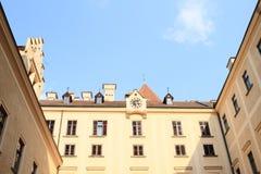 Palace on Castle Konopiste Royalty Free Stock Photos