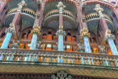 Palace of Catalan Music, Barcelona, Catalonia, Spain Royalty Free Stock Photo