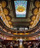 Palace of Catalan Music Stock Images