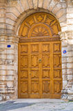 Palace of Cavaliere Semeraro. Martina Franca. Puglia. Italy. Royalty Free Stock Image