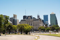 Palace of Centro Cultural Kirchner in Buenos Aires Argentina Stock Photos