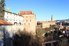 Palace in Cesky Krumlov Stock Images