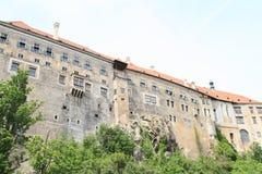 Palace in Cesky Krumlov Stock Photos