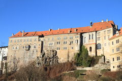 Palace in Cesky Krumlov Royalty Free Stock Photography