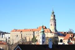Palace in Cesky Krumlov Royalty Free Stock Image