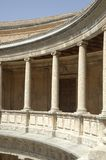 The palace of charles v in granada Royalty Free Stock Photography