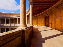 The Palace of Charles V in Granada Stock Photography