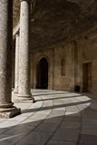 Palace of Charles V, Granada Spain Stock Photography