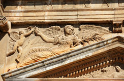 The Palace of Charles V, Granada, Spain Stock Images