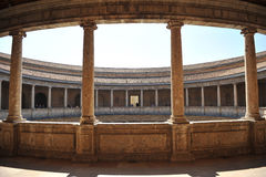 The Palace of Charles V, Granada, Spain Stock Photos