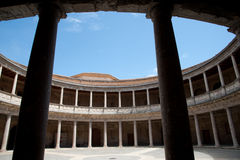 Palace of Charles V (Palacio de Carlos V) Royalty Free Stock Photos