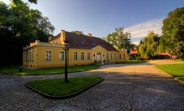 Palace in Choryn. Greater Poland, Poland Royalty Free Stock Image
