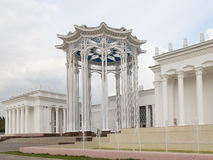 Palace with colonnade Royalty Free Stock Image