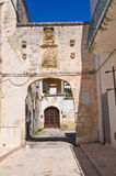 Palace of Commanders. Maruggio. Puglia. Italy. Royalty Free Stock Photography
