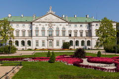 Palace of the Commonwealth in Warsaw Stock Photography