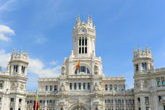 Palace of Communication, Madrid, Spain Stock Images