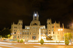 Palace of Communication, Madrid, Spain Royalty Free Stock Photo