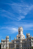 The Palace of Communications in Madrid Royalty Free Stock Photography
