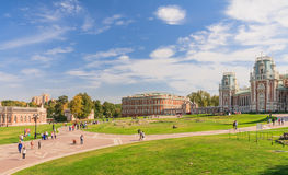 The palace complex. Museum-Reserve Tsaritsyno. Stock Images