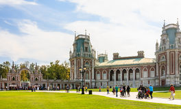 The palace complex. Museum-Reserve Tsaritsyno Royalty Free Stock Images