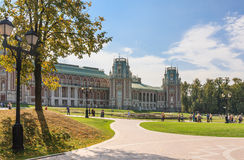 The palace complex. Museum-Reserve Tsaritsyno. Moscow royalty free stock photo