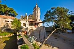 Palace of the Condes de Castro Guimaraes Stock Image