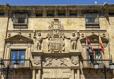 Palace Condes de Gomara in Soria, Spain Royalty Free Stock Images
