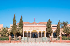 Palace of Congress in Ouarzazate Morocco Stock Photo