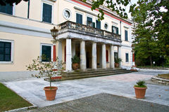 Palace in Corfu island Stock Image