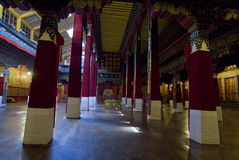 Palace corridor. The corridor passage in the Potala palace in Lhasa, Tibet Stock Images