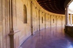 Palace corridor Royalty Free Stock Image