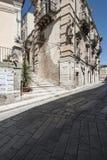 Palace cosentino ragusa sicily italy europe Royalty Free Stock Photography