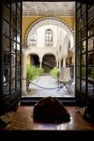 Palace of the Countess of Lebrija in Seville. Andalusia, Spain stock image
