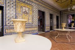 Palace of the Countess of Lebrija in Seville. Andalusia, Spain stock photography