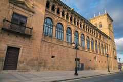 Palace of the Counts of Gomara. Soria Royalty Free Stock Photo