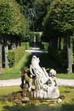 Palace and Court Garden Veitshoechheim Royalty Free Stock Photos