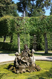 Palace and Court Garden Veitshoechheim Stock Photography