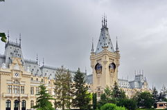Palace of Culture - landmark attraction in Iasi, Romania Royalty Free Stock Photo