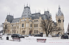 The Palace of Culture in Iasi city Royalty Free Stock Photos