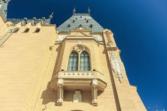 Palace of Culture in Iasi. City, Romania Royalty Free Stock Photos
