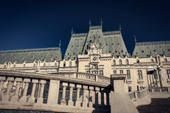 Palace of Culture in Iasi. City, Romania Royalty Free Stock Images