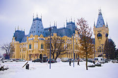 Palace of Culture in Iasi city, Romania Stock Image