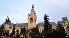 The Palace of Culture in Iasi, Romania Stock Photography
