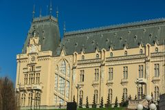 Palace of Culture in Iasi. City, Romania Royalty Free Stock Photography