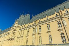 Palace of Culture in Iasi. City, Romania Stock Photography