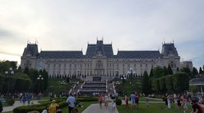 The Palace of Culture in Iasi, Romania Royalty Free Stock Photos