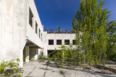 Palace of Culture in Pripyat Stock Photography